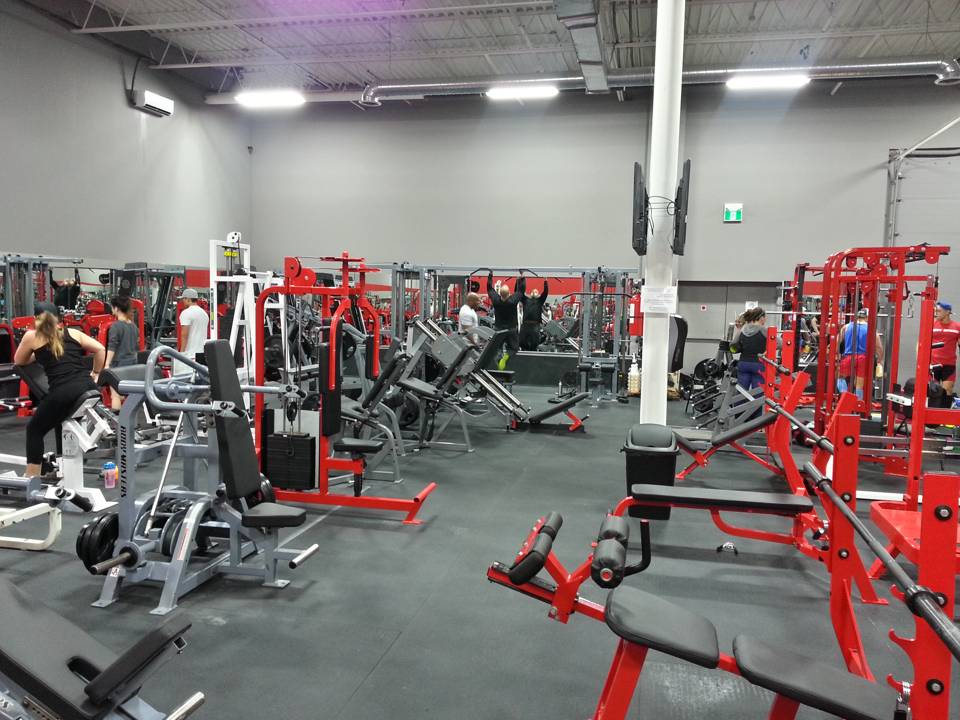 Iron Fitness Strength Club 24 hour Fitness Gym Markham